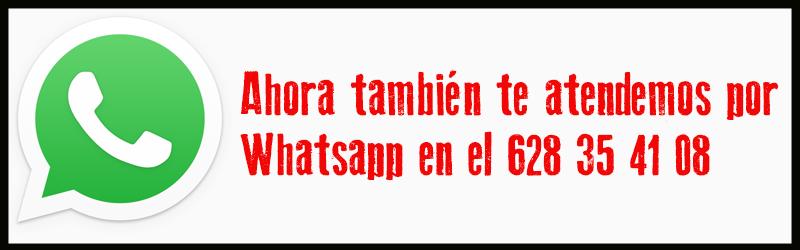 Te atendemos por Whatsapp